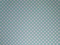 Papel pintado punteado azul y poner crema de Duck Egg del fondo imágenes de archivo libres de regalías