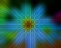 Papel pintado radial geométrico del fondo de la falta de definición Fotografía de archivo