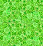Papel pintado retro en verde Fotos de archivo