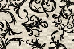 Papel pintado retro, textura blanco y negro Imágenes de archivo libres de regalías
