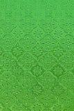 Papel pintado retro verde del fondo del modelo Imágenes de archivo libres de regalías