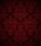 Papel pintado rojo oscuro inconsútil Imagen de archivo