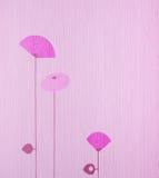 Papel pintado rosado Imagen de archivo libre de regalías
