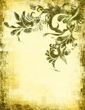 Papel pintado sucio desgastado antiguo de la mirada Fotografía de archivo libre de regalías