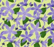 Papel pintado textured inconsútil de la flor Imagenes de archivo
