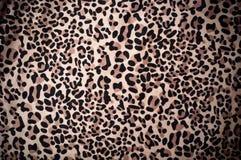 Papel pintado textured piel decorativa del leopardo Foto de archivo libre de regalías