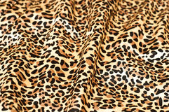 Papel pintado textured piel decorativa del leopardo Imagen de archivo libre de regalías