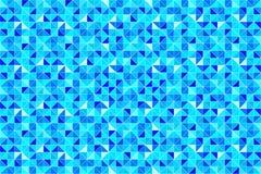 Papel pintado triangular Fondo inconsútil de los triángulos Ilustración del vector Impresión geométrica moderna triangulada Color ilustración del vector