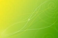 Papel pintado verde abstracto del fondo Fotos de archivo libres de regalías
