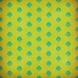 Papel pintado verde del grunge del damasco Foto de archivo libre de regalías
