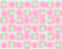 Papel pintado verde rosado del fondo de la falta de definición Imagen de archivo libre de regalías