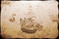 Papel pintado viejo Foto de archivo libre de regalías