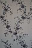 Papel pintado, vinilo, interlineando, fondo, flores Fotografía de archivo