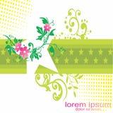 Papel pintado y imagen del fondo de la estrella de las flores libre illustration