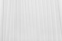 Papel plisado blanco Fotografía de archivo libre de regalías