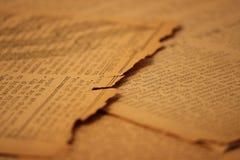 Papel prensa Background9 de la vendimia Fotos de archivo
