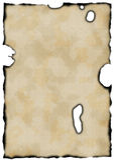 Papel queimado velho ilustração royalty free