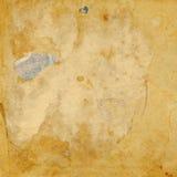 Papel rasgado retro viejo aislado vendimia Imagen de archivo