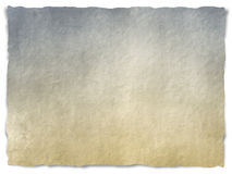 Papel rasgado sucio Imagen de archivo libre de regalías