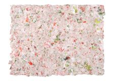 Papel recicl (do vintage) Foto de Stock