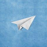 Papel reciclado aviones Foto de archivo libre de regalías