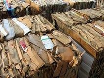 Papel a reciclar Foto de archivo libre de regalías