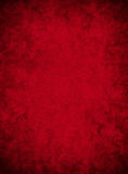 Papel rojo sucio Fotografía de archivo