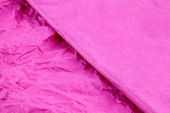 Papel seda coloreado Foto de archivo libre de regalías