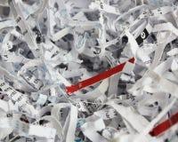 Papel Shredded Imagem de Stock Royalty Free
