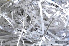 Papel Shredded Foto de Stock Royalty Free
