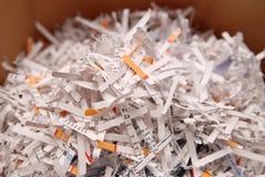Papel Shredded Imagens de Stock