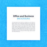 Papel sobre la línea de negocio de la oficina Art Background Fotografía de archivo libre de regalías