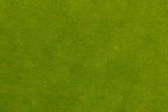 Papel textured da cor verde da mola no macro imagens de stock royalty free
