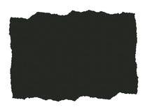 Papel Textured escuro rasgado Fotografia de Stock