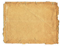 Papel textured velho Fotografia de Stock