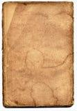 Papel textured velho com borda decrépita. Imagem de Stock Royalty Free