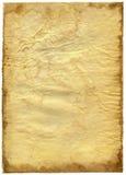 Papel textured viejo con el borde decrépito. Imagen de archivo libre de regalías