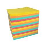 Papel Varicoloured para la escritura Imágenes de archivo libres de regalías