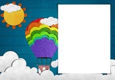 Papel vazio e arte do papel Imagem de Stock