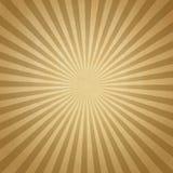 Papel velho bege com teste padrão do sol Fotografia de Stock Royalty Free