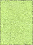 Papel velho verde do vintage Ilustração Stock