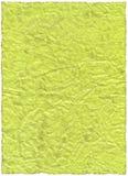 Papel velho verde do vintage Imagens de Stock