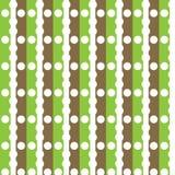 Papel verde e marrom da decoração de Digitas Foto de Stock