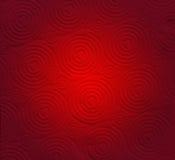 Papel vermelho abstrato com fundo da forma do coração Imagem de Stock Royalty Free