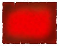 Papel vermelho muito velho ilustração royalty free