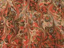 Papel veteado de la vendimia Imagen de archivo libre de regalías