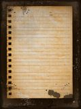Papel viejo Fotos de archivo libres de regalías