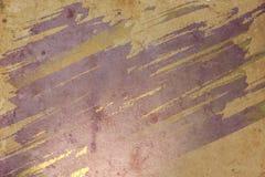 Papel viejo con las manchas de óxido imagen de archivo