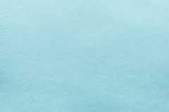 Papel viejo de la textura del color azul claro Fotografía de archivo