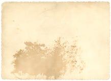 Papel viejo del cuadro Fotografía de archivo